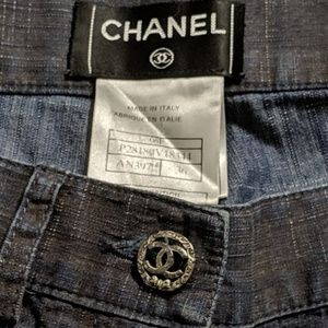 3/$750 - Chanel rare vintage jeans